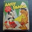 Better Little Book Andy Panda in the City of Ice by Walter Lantz 1946 # 1441