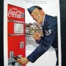 Vintage 1952 Coke-Cola~Coke follows thirst everwhere Magazine Advertisment