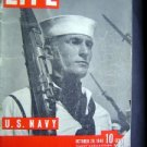 Oct 1940 LIFE Magazine US NAVY Spec World War Fleet Ads