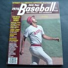 1976 Street & Smith's Baseball Yearbook Magazine Fred Lynn Boston Red Sox Cover