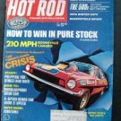 Hot Rod May 1972 Camaro~Drag racing~Daytona 500~dyno Don Pro Stock Hurst/Olds VG