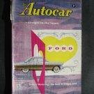 Feb. 7, 1958 Autocar Magazine Ford Zodiac