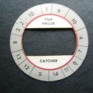 Cadaco All-Star Baseball Game Disk Tom Haller Catcher