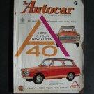 Oct  3 1958 Autocar Magazine Austin A 40 Race Car Shows