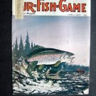APR 1973 FUR-FISH-GAME Fishing Cover Tim Johnson Fish Hunt Outdoor Sport