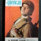 AMERICAN MAGAZINE Dec 1943 WW II Hitler Nazi Army Japs Cover~Nick Warwick