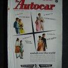 Oct 10 1958 Autocar Magazine Standard Triumph