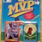 MVP BB 1990 Score Card & Pin Minn Twins Kirby Puckett