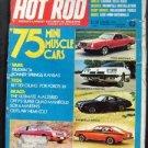 Hot Rod Oct 1974 37 130 SIMCA~HEMI COLT~VANS TRUCKING 74 ~USAC POCONO 500
