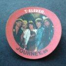 1985 7-11 Seven Eleven Rock Stars Disc JOURNEY