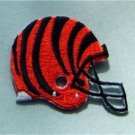 "Cincinnati Bengals Die Cut NFL Football 2"" Cloth Helmet Patch"