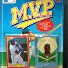 MVP BB 1990 Score Card & Pin Kansas City Royals Bo Jackson 1st Edition