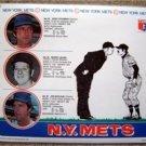 1976 New York Mets Baseball Plastic Placemat Koosman Lolich & Matlack