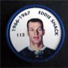 1966-1967 NHL Hockey Coin # 113 Eddie Shack Toronto Maple Leafs