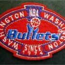Washington Bullets Basketball NBA Cloth Oval Patch 3 1/4""