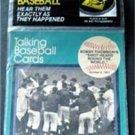 1989 CMC Talking Baseball Card 33 RPM Record # 12 Bobby Thomson's HR Shot