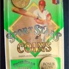 1990 Sport Stars Collector Brass Coins Howard Johnson NY Mets and Bonus BanDai