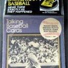 1989 CMC Talking Baseball Card 33 RPM Record # 10 Roger Maris Breaks HR Record