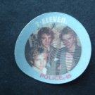 1985 7-11 Seven Eleven Rock Stars Disc THE POLICE STING