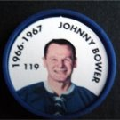 1966-1967 NHL Hockey Coin # 119 Johnny Bower Toronto Maple Leafs