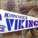 Vintage Minnesota Vikings NFL Football Pennant