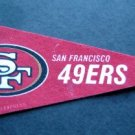 "San Francisco Forty Niners 49ers NFL Football 9"" Mini Pennant Rico / Tag Express"