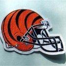 "Cincinnati Bengals Die Cut NFL Football 4"" Cloth Helmet Patch"