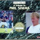 1993 Spectrum Quarterback Club A Tribute to Phil Simms Giants PROMO Rare No #
