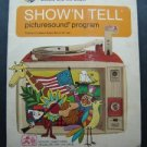 GE Show 'N Tell Picturesound Program Beauty and the Beast  Record ST-209 1966