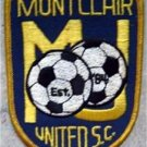 Montclair United Soccer Club Cloth Patch 4""