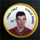 1966-1967 NHL Hockey Coin # 32 Chico Maki Chicago Blackhawks