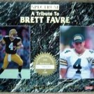 1993 Spectrum Quarterback Club A Tribute to Brett Favre Packers PROMO Rare No #