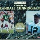 1993 Spectrum Quarterback Club A Tribute to Randall Cunningham PROMO Rare No #