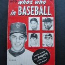 1970 Who's Who in Baseball Guide Book Tom Seaver 1969 Team Mets Covers