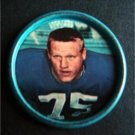 1962 Salada Junket Football Coin #117 Jim Katcavage New York Giants