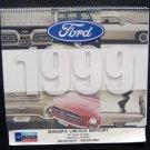 Vintage 1999 Ford Auto Car Calendar