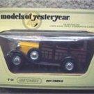 Matchbox Model Yesteryear 1927 Ford A Car Y-21