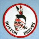 "Boston Braves 1971-74 AHL Hockey Cloth 3 "" Patch"