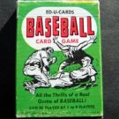 Vintage 1957 Ed-U-Cards Baseball Card Game in Original Box Complete 1-9 Players