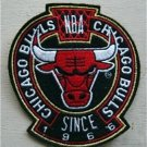 Chicago Bulls Basketball Cloth Crest Shield Patch 4 1/2""