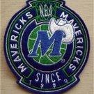 "Dallas Mavericks NBA Basketball Cloth Crest Shield Patch 4 1/2"""