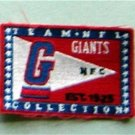 "New York Giants NCF Football Cloth 2"" Label PATCH"