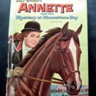 Walt Disney's Annette and the Mystery at Moonstone Bay Book 1962 Whitman
