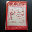 1927 Spalding Indoor Outdoor Gymnastic Games Booklet