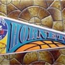 Charlotte Hornets NBA Basketball Pennant Purple Wincraft with Cardboard Hanger