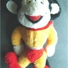 """Mighty Mouse 9"""" Plush Stuffed Figure Doll with Red Cape"""