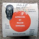 1987 Wiffle Ball in Box Mike Scott Houston Astros