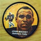 "1971 Mattel Instant Replay Record 2 1/2"" Football John Mackey Baltimore Colts"
