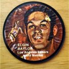 "1971 Mattel Instant Replay Record 2 1/2"" Basketball Elgin Baylor L A Lakers G"
