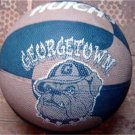 Georgetown University Full Size Hutch Brand Basketball with Bulldog Logo
